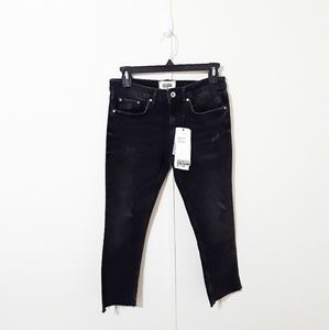 NWT Zara authentic denim by TRF black jeans